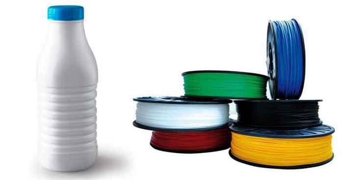 Impression 3D avec du plastique recyclé